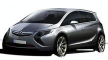 2012 Opel Zafira - new details emerge