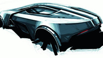 Audi Intelligent Emotion future mobility concept sketch by Niels Steinhoff