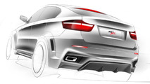 BMW X6 Interceptor by Met R illustration, 1280, 28.05.2010
