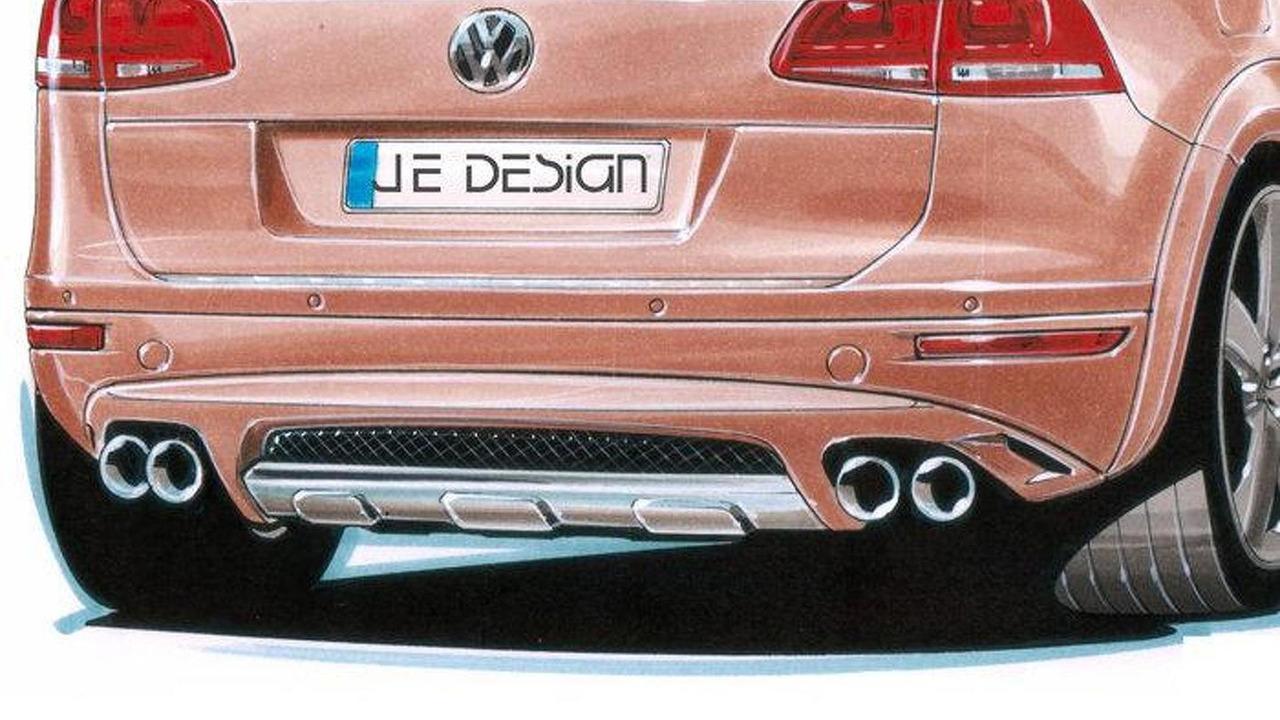JE Design wide body conversion kit for 2011 VW Touareg, 700, 17.05.2010