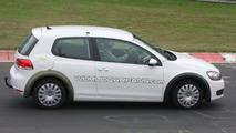 2012 VW Golf VII First Prototype Mule Spy Photos
