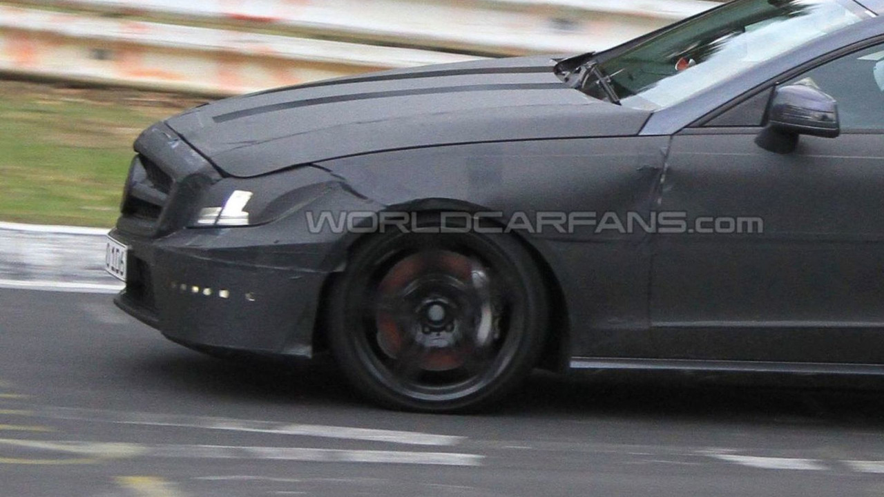 2012 Mercedes CLS 63 AMG prototype spy photo 16.04.2010