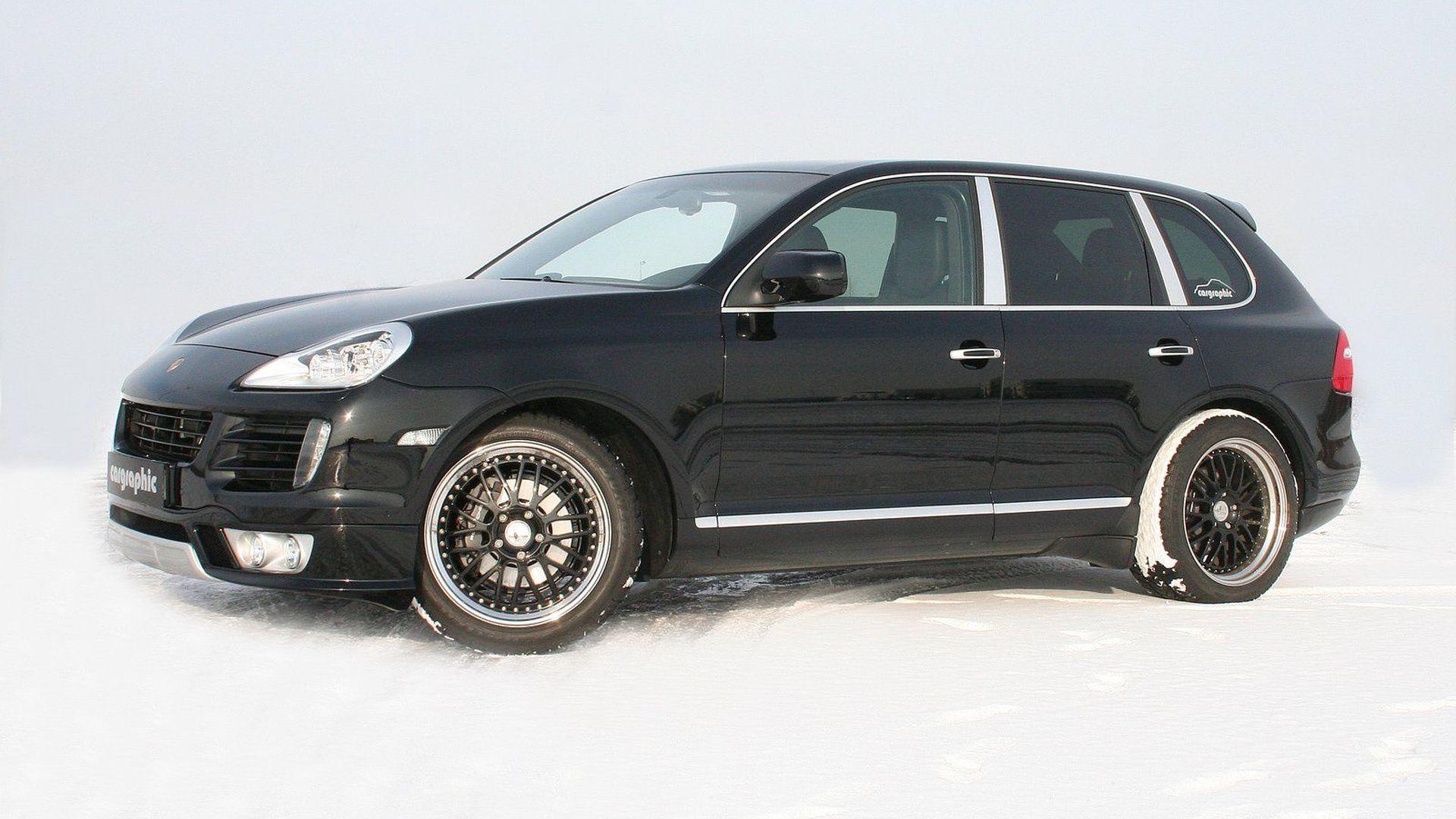 Cargraphic Turbo Look for Porsche Cayenne Diesel