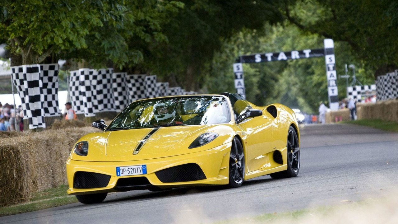 Ferrari Scuderia Spider 16M at Goodwood FOS 2009