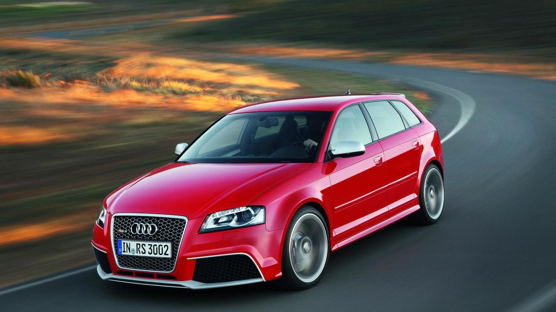 Audi RS3 Sportback returns from the grave - 250 more coming to the UK