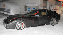 2012 Ferrari 612 shooting brake spied 18.01.2011
