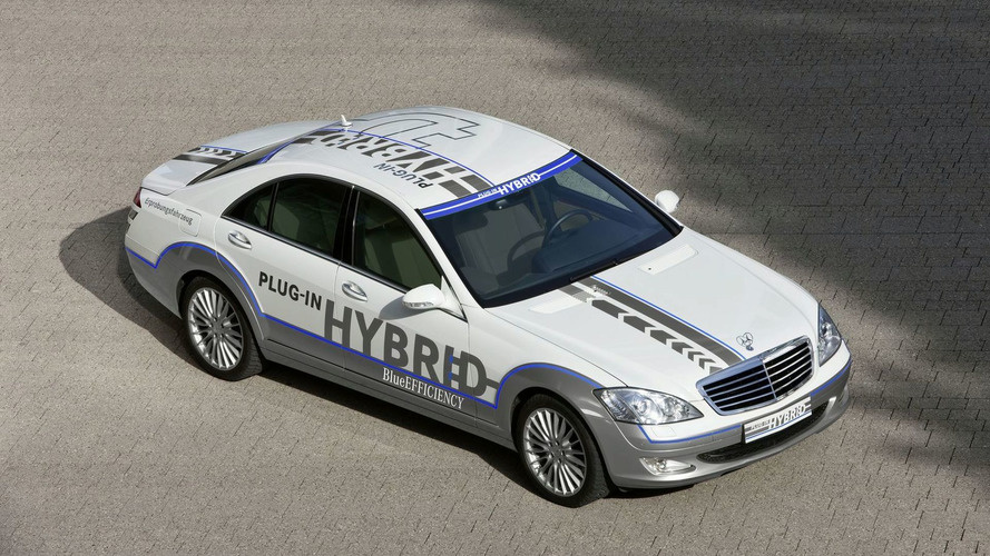 Next Generation S-Class First Mercedes to Get Plugin Hybrid Tecnology
