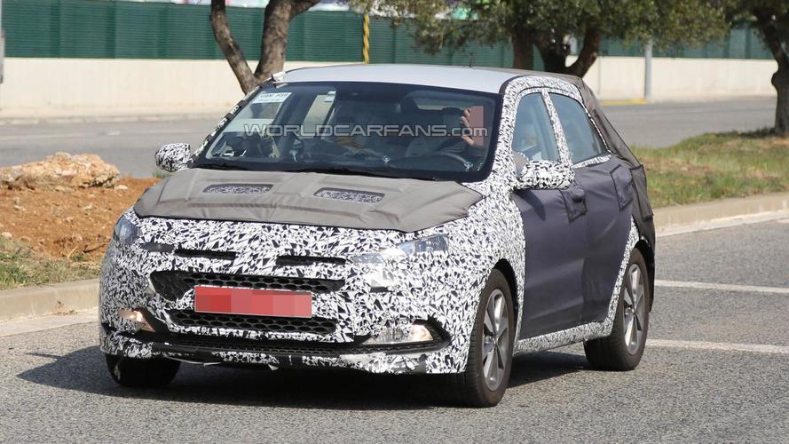 Second-gen Hyundai i20 spied undergoing testing