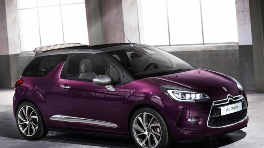Citroen DS3/DS3 Cabrio facelift launched with LED and xenon headlights