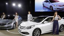 Hyundai Grandeur facelift and AG luxury sedan arrive at Busan Motor Show