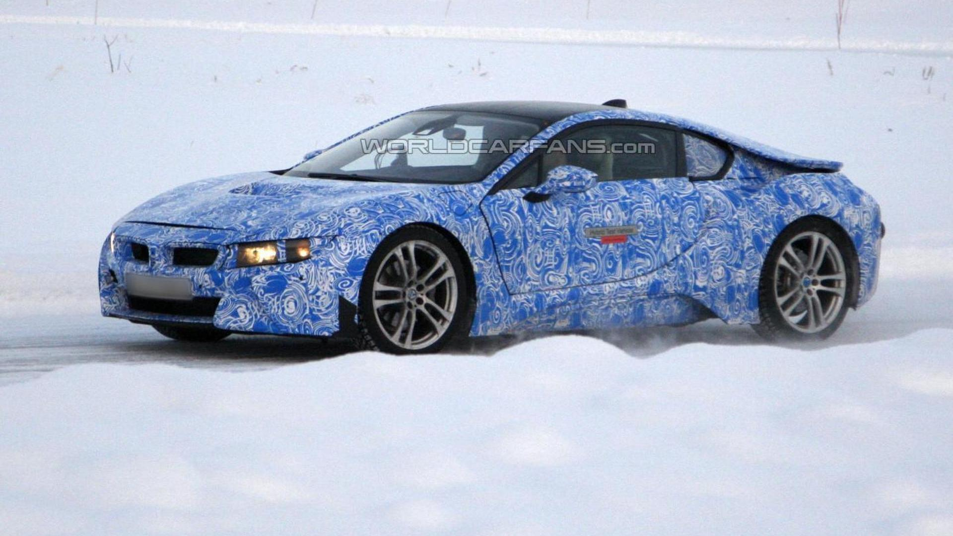 2014 BMW i8 spied cold weather testing [video]