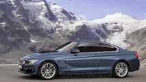 BMW 4-series Coupe & Cabriolet rendered