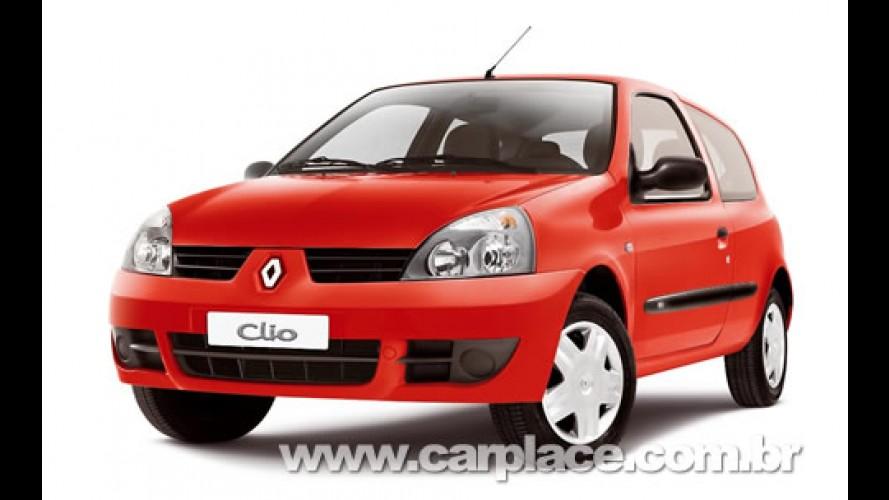 Renault anuncia nova tabela de precços - Clio Campus passa a custar R$ 24.790