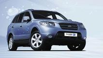 Hyundai Sante Fe Blue Hybrid