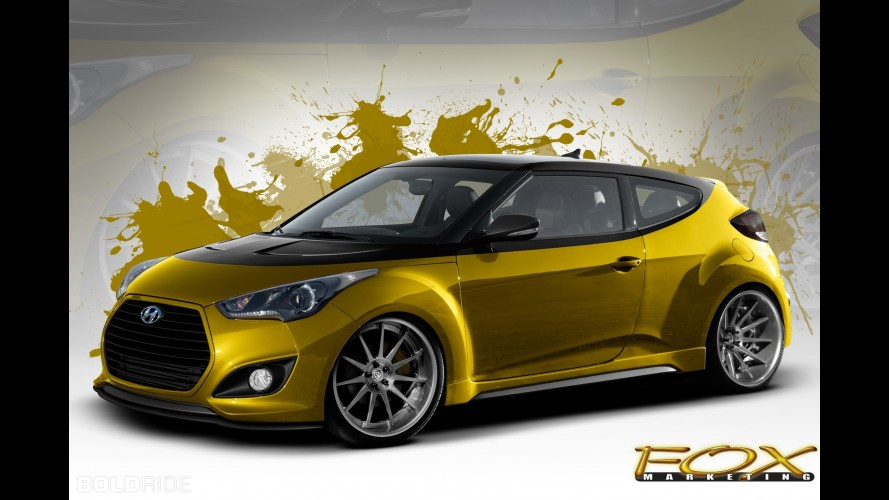 Fox Marketing Hyundai Veloster Turbo SEMA