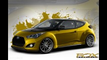 Fox Marketing Hyundai Veloster Turbo SEMA