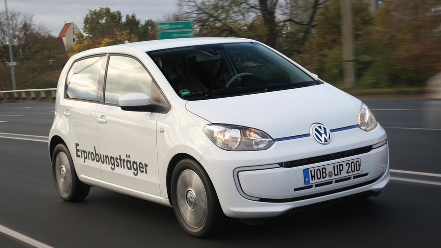 Volkswagen Twin-Up diesel-electric hybrid concept revealed