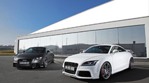 HPerformance shows off 500 HP Audi TT-RS black and white combo