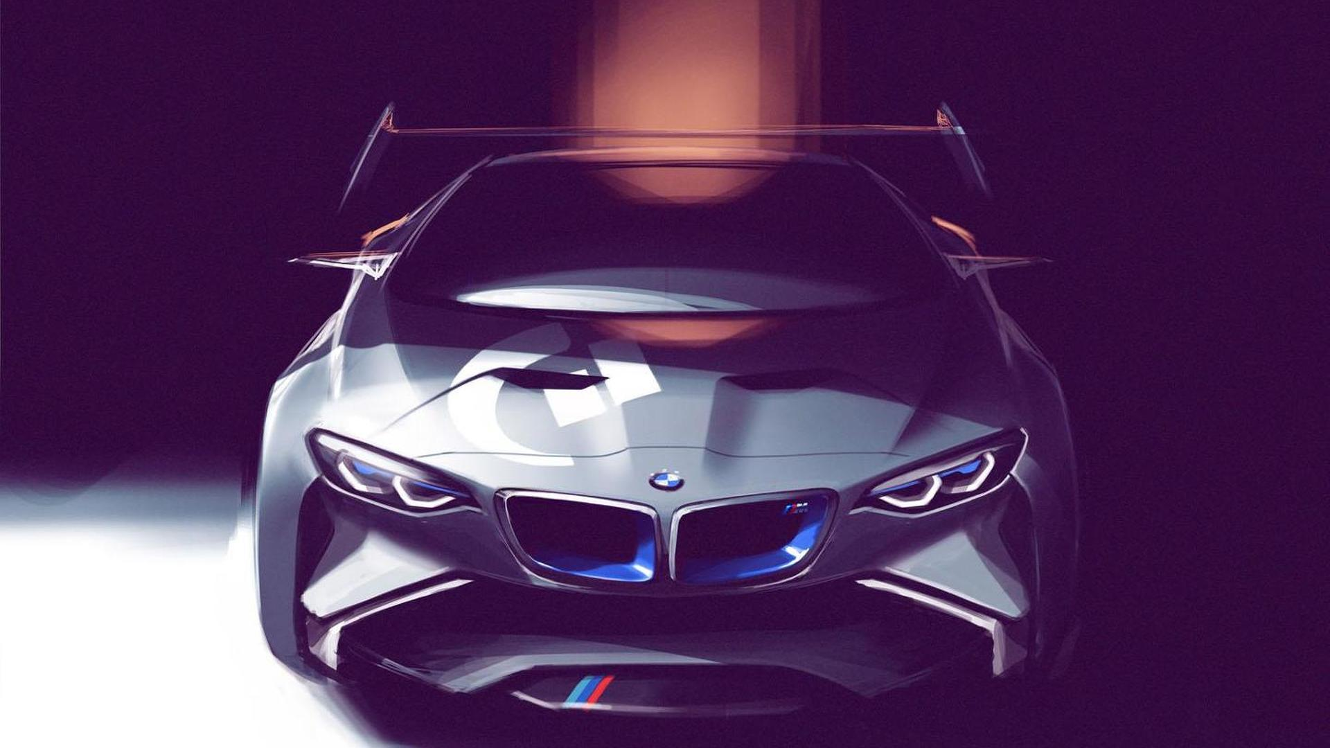 BMW Vision Gran Turismo announced [video]