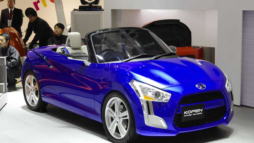 Daihatsu Kopen concept unveiled in Tokyo, production model could arrive next year