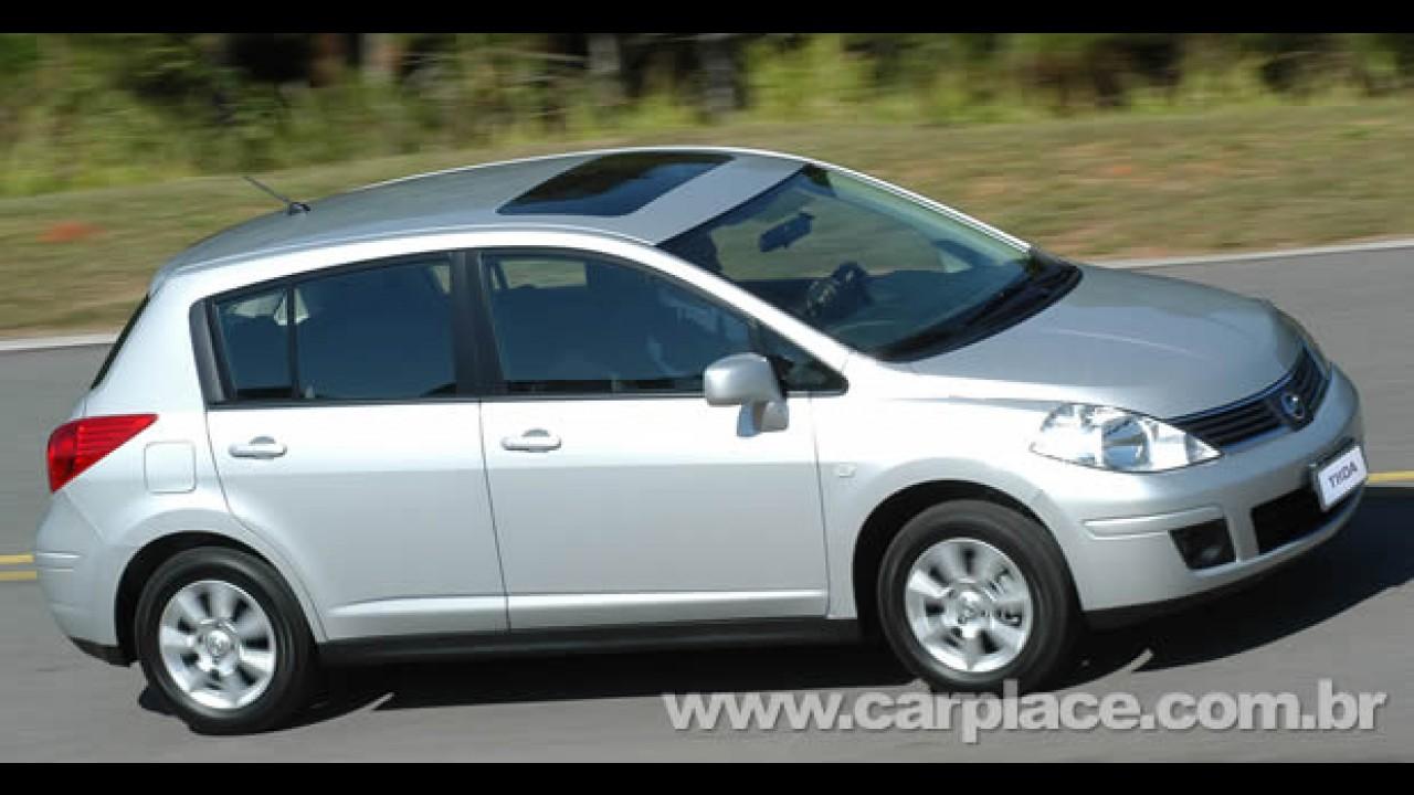 Nissan Tiida Flex: Hatch ganha motor FlexFuel (bicombustível) - Preço inicial é de R$ 51890