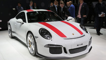 Porsche 911R brings NA power and manual to Geneva [video]