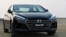 Alleged 2016 Hyundai Elantra spotted