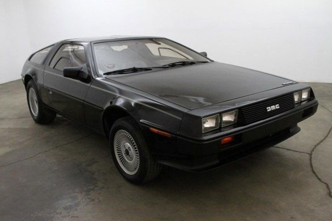 This Rare Black DeLorean is a 121 Mile Beauty