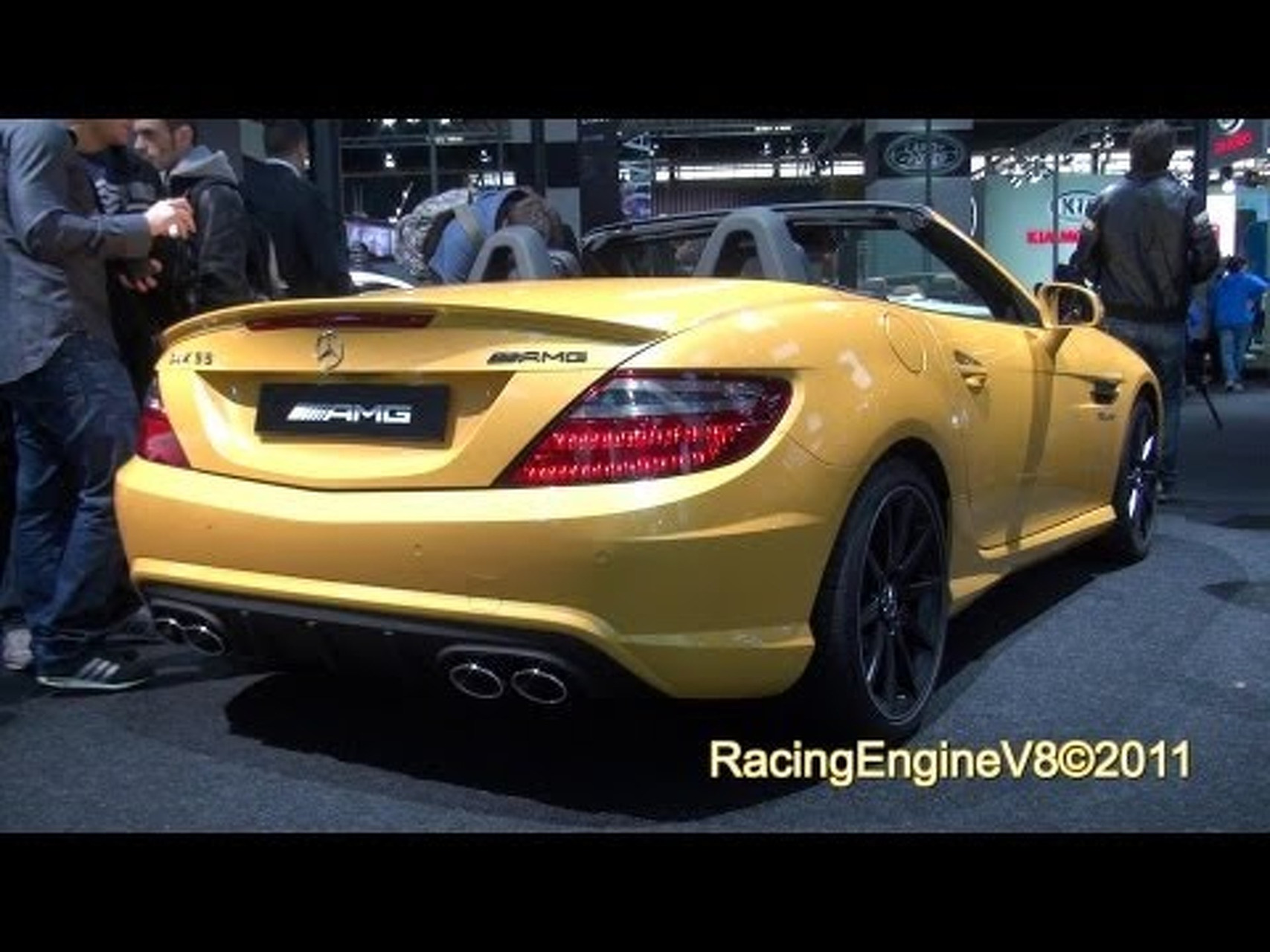 2012 Mercedes-Benz SLK55 AMG Streetfighter Yellow Edition