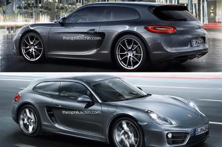 Porsche Cayman Doubles as Sporty Shooting Brake