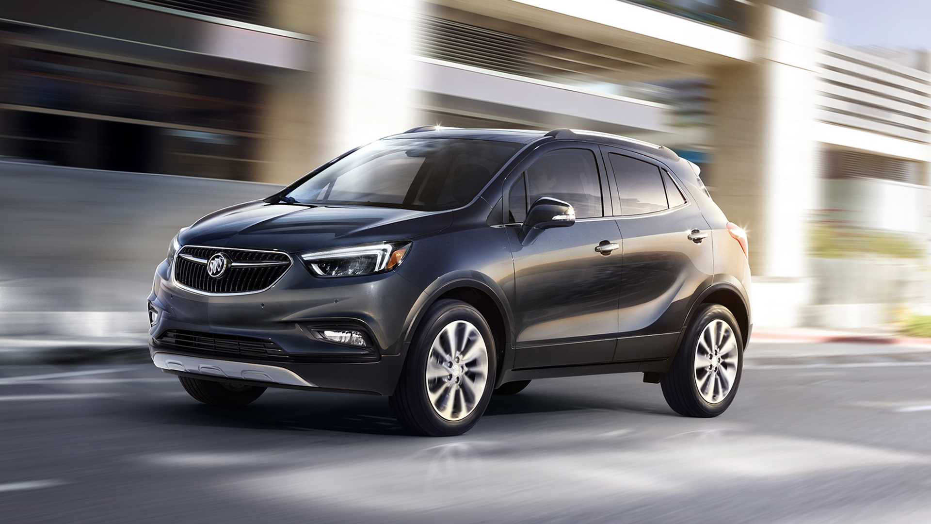 2017 Buick Encore unveiled with revised styling inside & out