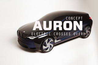 BMWi Auron Concept: Electric Crosses Over