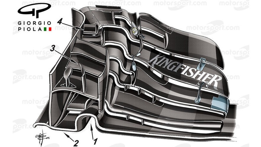 Technical analysis: The front wing that Force India hopes will turn its season