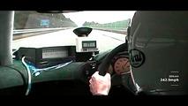 McLaren releases unseen footage of F1's record top speed run