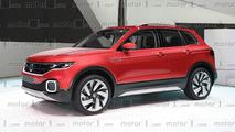 Volkswagen Polo Crossover - Il pourrait ressembler à ça