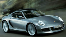 Rendered Speculation: Next Generation Porsche Cayman