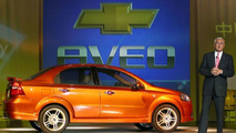 2005 Chevrolet Aveo unveiled at Shanghai 2005