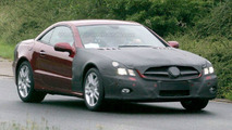 Mercedes SL Second Facelift Spy Pics