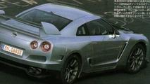 Nissan GTR Scans Surface