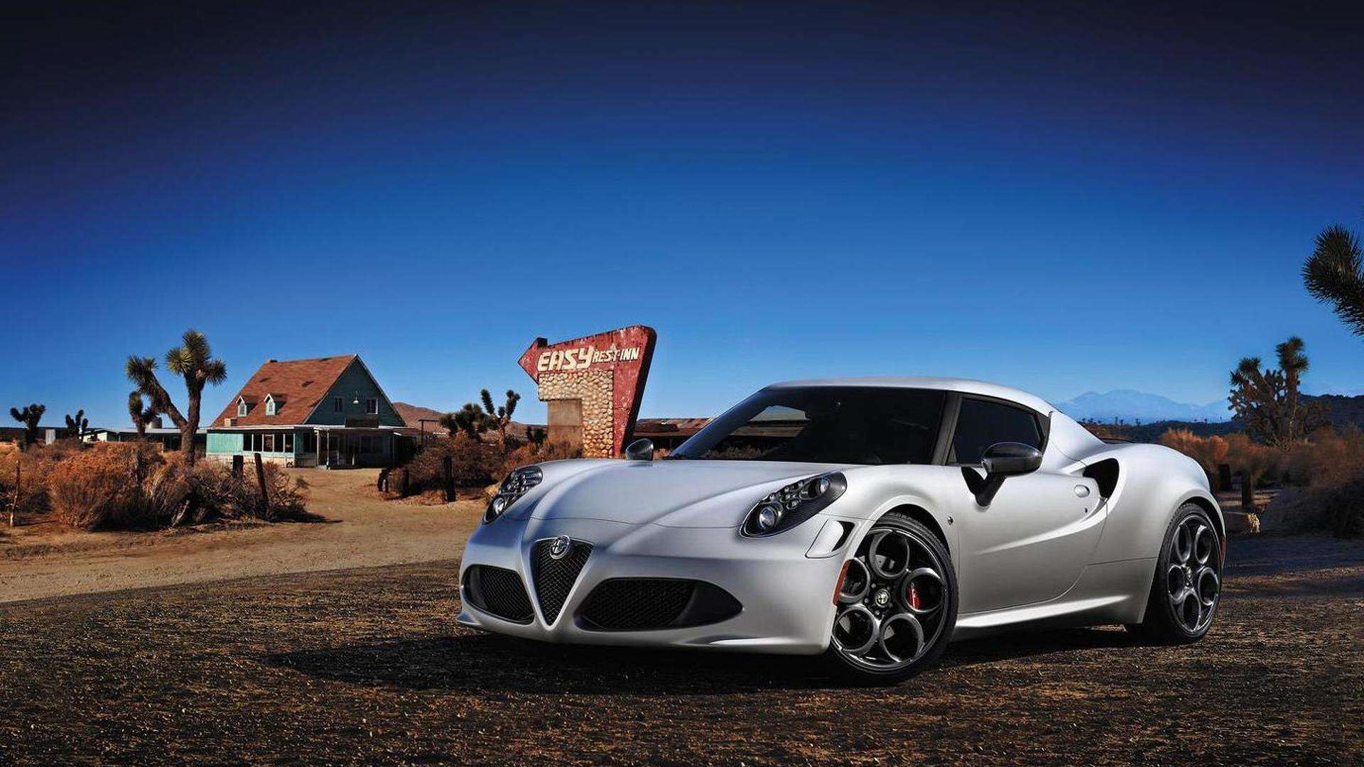 Alfa Romeo 4C to make dynamic debut at Goodwood