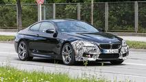 2015 / 2016 BMW M6 Coupe facelift spy photo