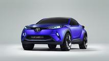 Toyota C-HR concept leaked photo