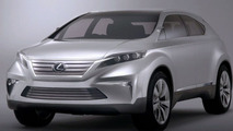 Lexus planning NX 200t and NX 300h ?