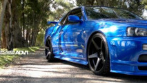 Nissan Skyline GT-R with ADV.1 wheels, 1024, 23.12.2011