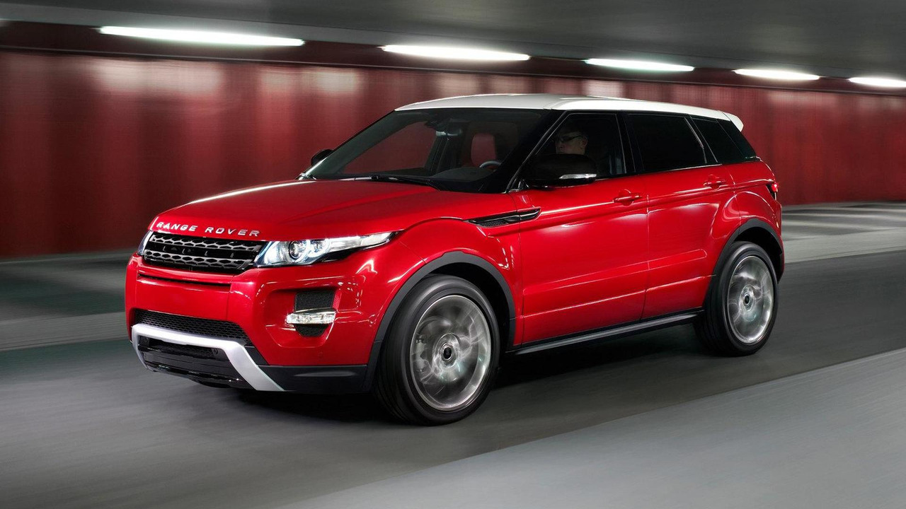 Range Rover Evoque 5-door first photo 30.09.2010