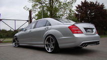 MEC Design gives S65 AMG makeover to pre-facelift S-Class plus mecxtremeIII wheels