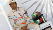 'Calm' Liuzzi expects to keep Force India seat