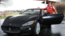 Alonso Gets Maserati GranCabrio as Daily Driver