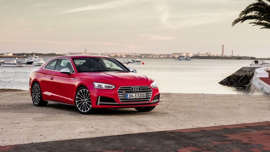 2017 audi a5 coupe sportback prices start at 30 700 and 38 005 in uk. Black Bedroom Furniture Sets. Home Design Ideas