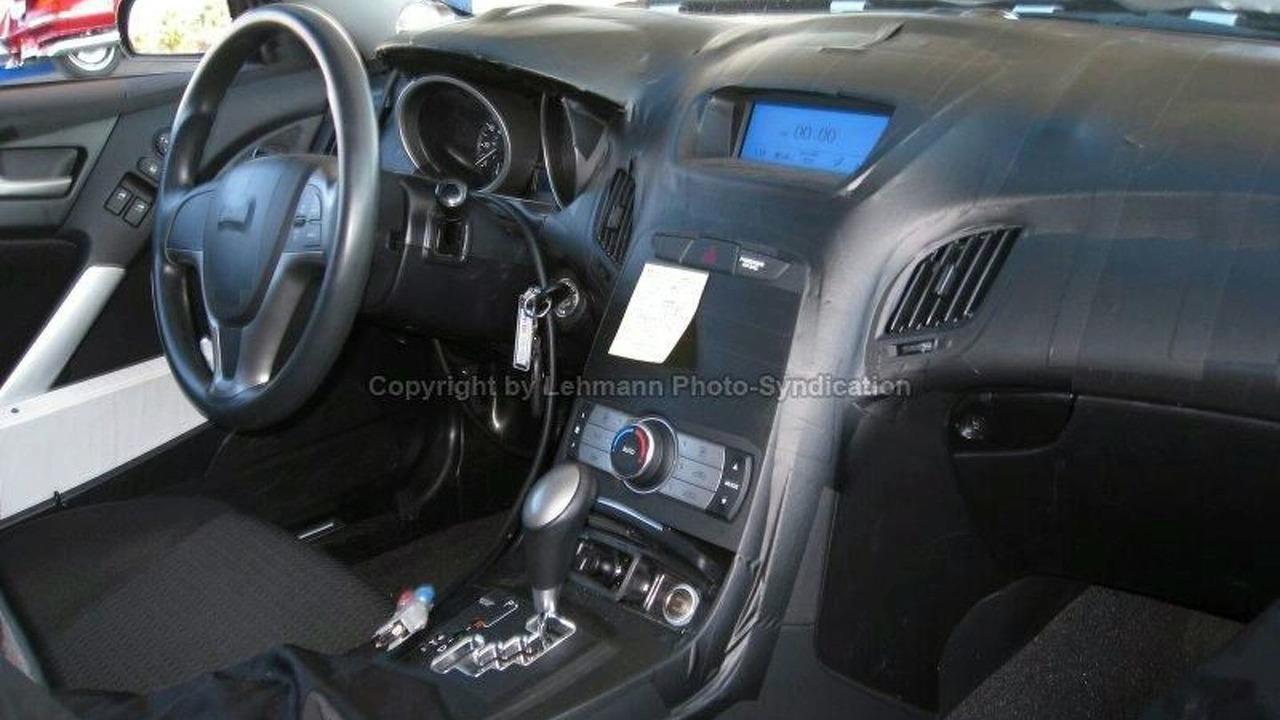 Hyundai Sports Coupe Interior Spied